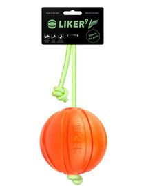LIKER LUMI lopta na žiariacej šnúrke 9 cm