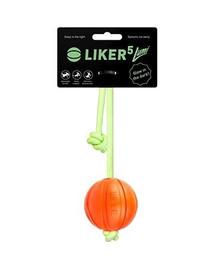 LIKER LUMI lopta na žiariacej šnúrke 5 cm