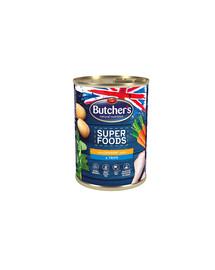 BUTCHER'S Superfood Dog držky a kuracie Paté konz. 400g