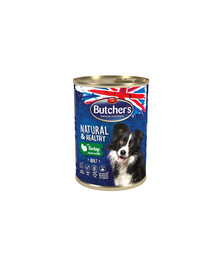 BUTCHER'S Natural&Healthy Dog morčacie 400 g