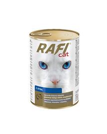 DOLINA NOTECI Rafi Adult Ryby Mokré krmivo pre mačky 415 g
