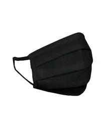 HEXA HEALTH Ochranné dvojvrstvové bavlnené rúško, čierne