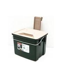 CURVER Odpadový box 6 l zelený