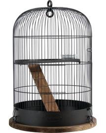 ZOLUX Klietka Retro Albert pre hlodavce 38x38x55 cm čierna