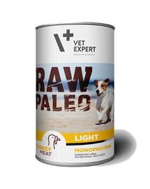 VETEXPERT RAW PALEO Adult Light Turkey 400 g