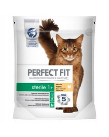 PERFECT FIT (Sterile 1+) 4,5kg Bohaté na hovädzie mäso - krmivo pre kastrované mačky