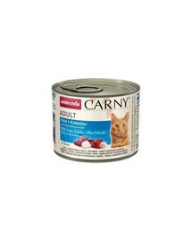 ANIMONDA Carny Cat hovädzie s treskou a petržlenom 200g
