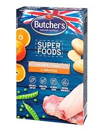 BUTCHER'S Dog Superfoods GF Kačica & Pomaranč 320g