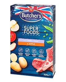 BUTCHER'S Superfoods Treats Jahňacie & Jablko 320 g