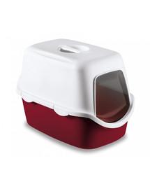 ZOLUX Toaleta s filtrom CATHY bordová