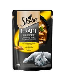SHEBA Sheba Craft Collection Hydina v omáčke 12x85g