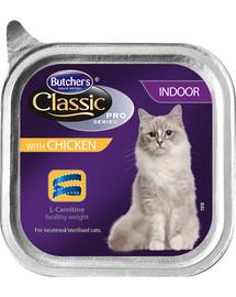 BUTCHER'S Classic Indoor Cat kuracie Paté 100 g