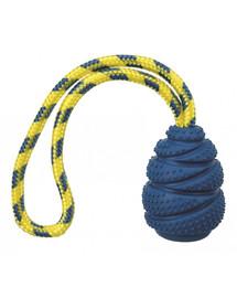 TRIXIE Gumová hračka Sporting Jumper na lane, prírodná guma 9 cm / 30 cm