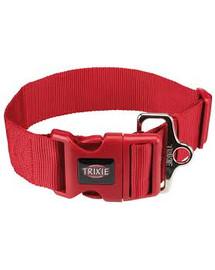 TRIXIE Obojok Premium XXL, M–L: 40–60 cm/50 mm, červený