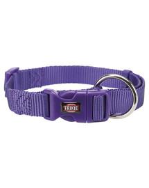 TRIXIE Obojok Premium, M–L: 35–55 cm/20 mm, fialový