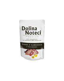 DOLINA NOTECI Premium kuracie rezancové jedlo 100 g pre psov malých rás
