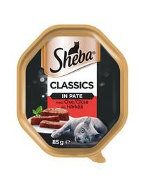 SHEBA Paté hovädzie 85 g x 22