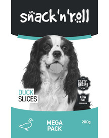 SNACK & ROLL Duck Slices 200 g