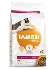 IAMS For Vitality Cat Senior Chicken 3 kg