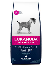 EUKANUBA EveryDay Small & Medium Chicken 1,5 kg