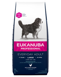 EUKANUBA Dog Adult large Chicken Everyday Breed 16,5 kg