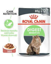 ROYAL CANIN Digest SENSITIVE v omáčke 85g x 12