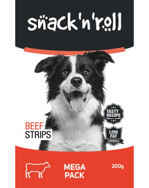 SNACK & ROLL Beef Strips 200 g