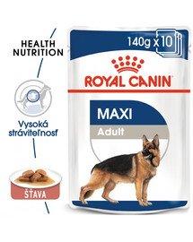 ROYAL CANIN Maxi Adult kapsička pre dospelé veľké psy 10x140g