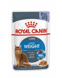 ROYAL CANIN Ultra Light Jelly 85g x 12 kapsička pre mačky s nadváhou v želé