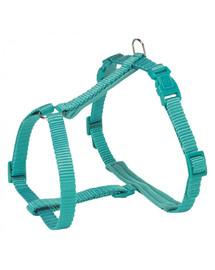 TRIXIE Premium Postroj pre mačky s vodítkom, 25 - 45 cm / 10 mm, 1,20 m, morská modrá