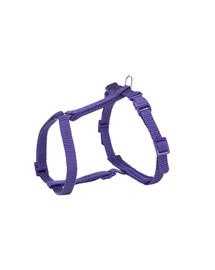 TRIXIE Premium postroj pre mačku s vodítkom, 25–45 cm / 10 mm, 1,20 m, fialový