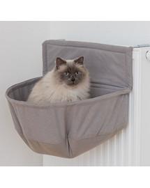 TRIXIE Pelech XXL na radiátore pre veľké mačky, hnedý