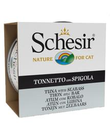 SCHESIR Morské špeciality Tuniak s morským vlkom 85 g