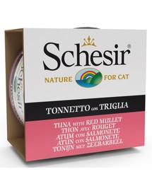 SCHESIR Morské špeciality Tuniak s parmicou 85 g