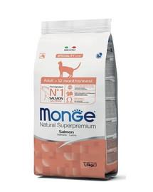 MONGE Cat Adult Losos 400g