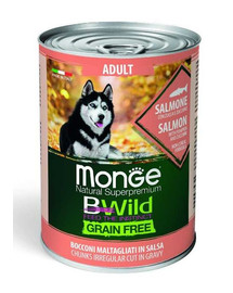 MONGE BWild grain free losos 400g