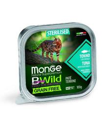 MONGE BWild GF Sterilised Tuniak 100g