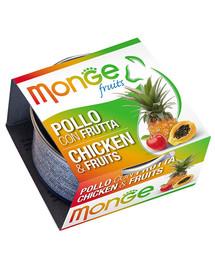 MONGE Fruit Kura a ovocie 80 g