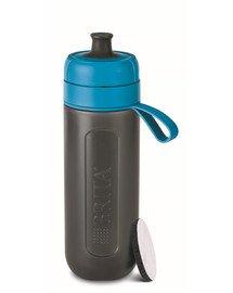 BRITA Filtračná fľaša Fill & Go Active 0,6 l modrá