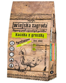 WIEJSKA ZAGRODA Kačica s hruškou kapsička pre veľké plemená psov