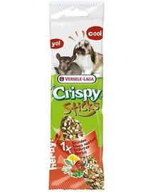 Versele-LAGA Crispy Stick Herbs 70 g Tyčinky pre činčilu
