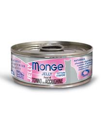 MONGE Jelly Tuniak a ančovičky 80 g