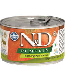 FARMINA N&D Pumpkin boar & apple divina a jablko 140 g