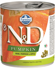 FARMINA N&D Pumpkin konzerva pre psa - divina a jablko 285 g