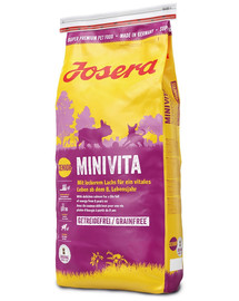 JOSERA MiniVita 5 x 900 g (4+1 ZADARMO)