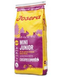 JOSERA Mini Junior 5 x 900g pre šteňatá ( 4+1 ZADARMO)