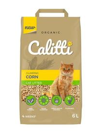 CALITTI Podstielka z kukurice pre mačku 6 l