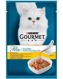 GOURMET Perle Gravy  Chicken 85 g Set 5 + 1 ZDARMA