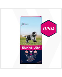 EUKANUBA Caring Senior Medium Breed 2 x 15kg kuracie granule