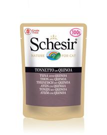 SCHESIR Kapsička Tuniak s quinoou 85 g